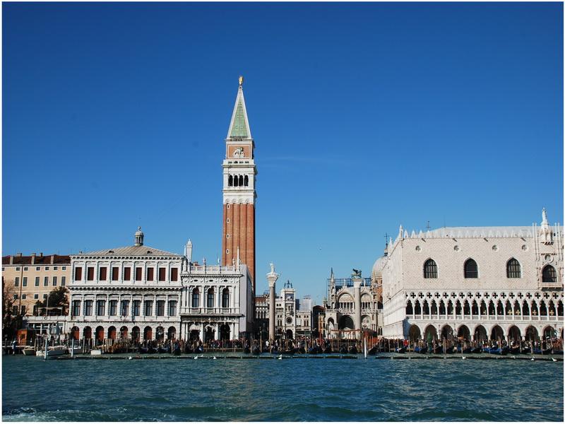 Campanile San Marco, Venise, Italie