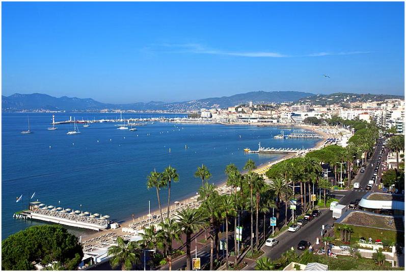 Tourisme à Cannes, Alpes-Maritimes, France