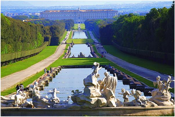 Caserte, Campanie, Italie, Parcs de Caserte