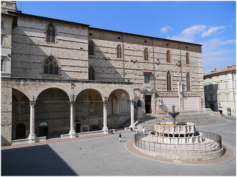 Cathédrale de San Lorenzo, Pérouse, Italie