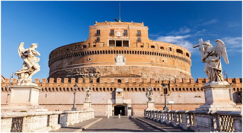 Château Saint Ange, Rome, Italie