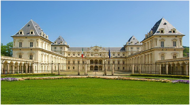Château du Valentino, Turin, Italie