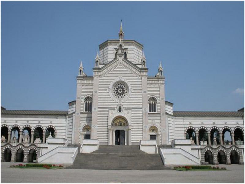 Cimitero Monumentale, Milan, Italie