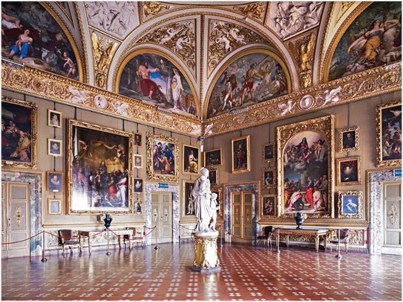 Galerie palatine florence italie cap voyage for Casa moderna orari