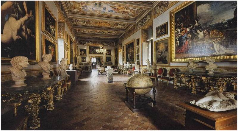 Galerie Spada, Rome, Italie