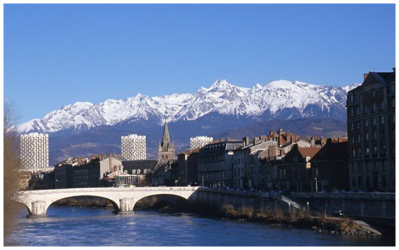 Grenoble  Is U00e8re  Rh U00f4ne