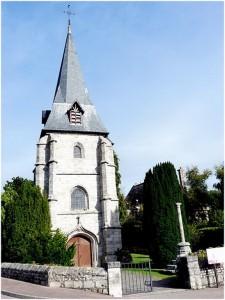 Hautot-sur-Mer, Seine-Maritime, Haute-Normandie, France, monumen
