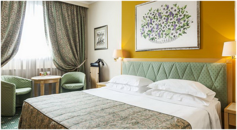 Hotel ADI Poliziano Fiera, Milan, Italie, Chambres