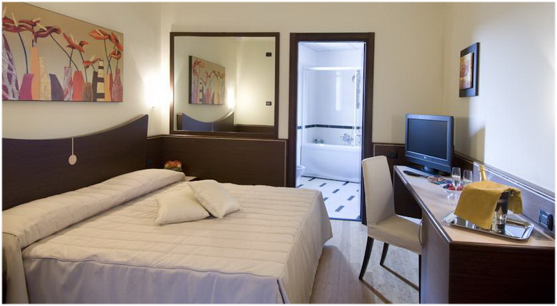 Hotel AS Cambiago, Milan, Italie, Chambres