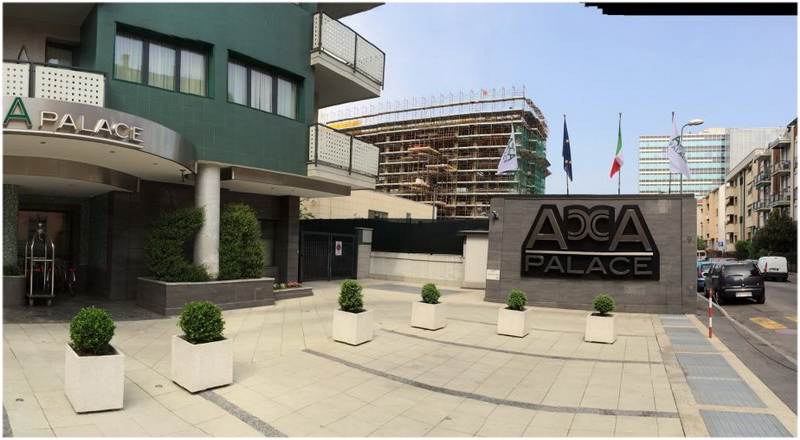 Hotel Acca Palace, Milan, Italie