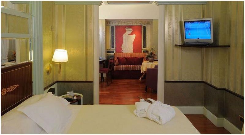 Hotel Antares Rubens, Milan, Italie, Chambres