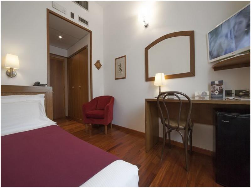 Hotel Ariosto, Milan, Italie, Chambres
