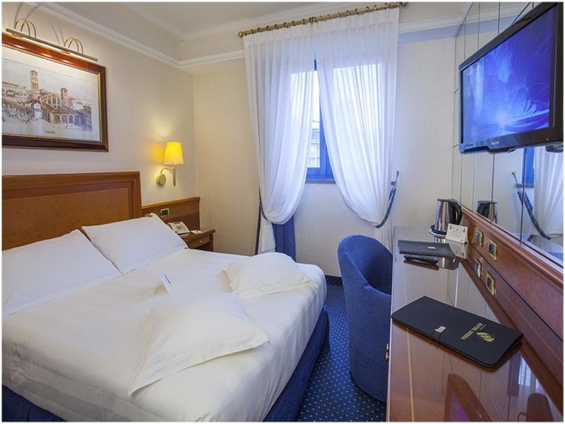 Hotel Berna, Milan, Italie, Chambres
