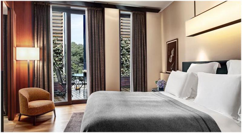 Hotel Bulgari, Milan, Italie, Chambres