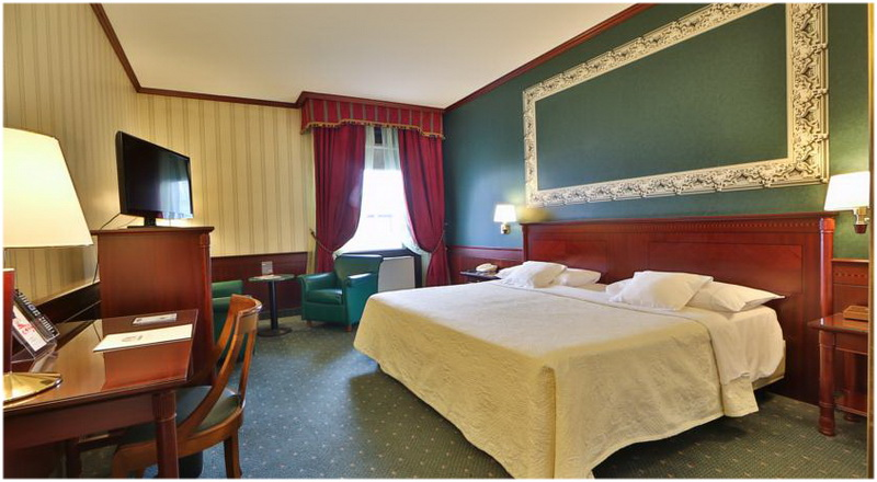 Hotel Concorde, Milan, Italie, Chambres