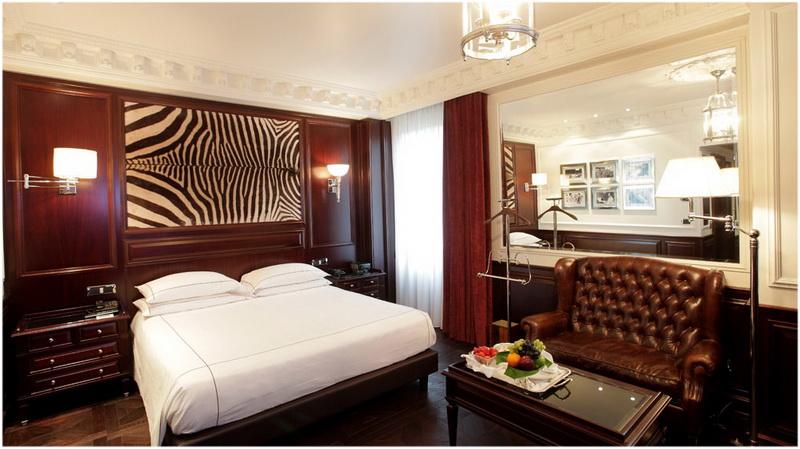 Hotel De la Ville, Milan, Italie , Chambres