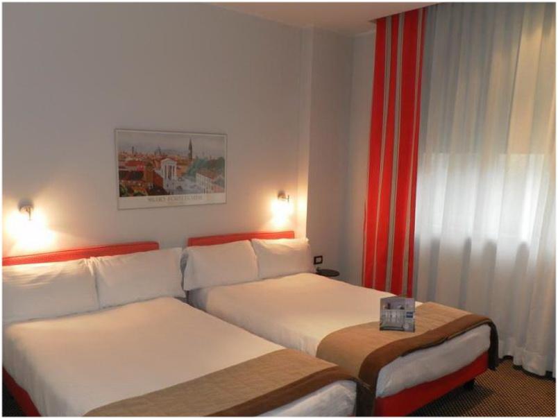Hotel Del Corso, Milan, Italie, Chambres