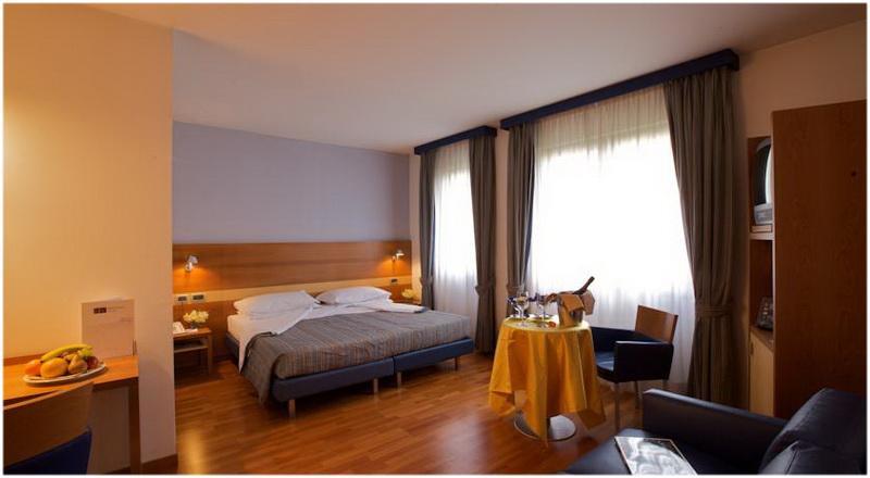 Hotel Fiera, Verone, Italie, Chambres