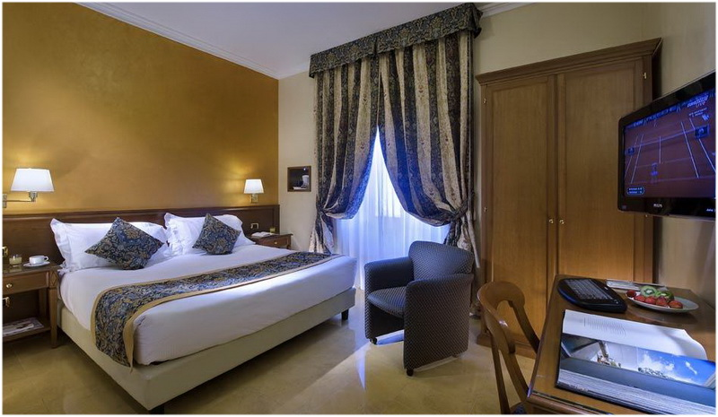 Hotel Galles, Milan, Italie, Chambres