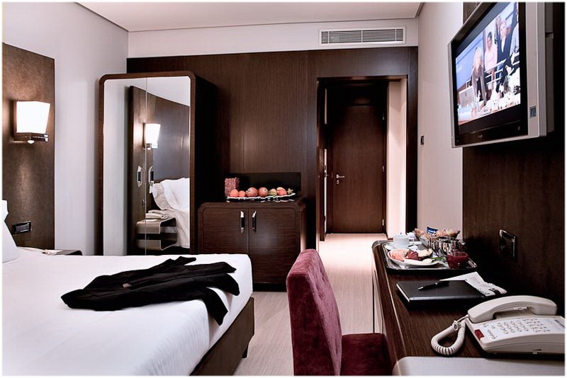 Hotel Goldenmile, Milan, Italie, Chambres