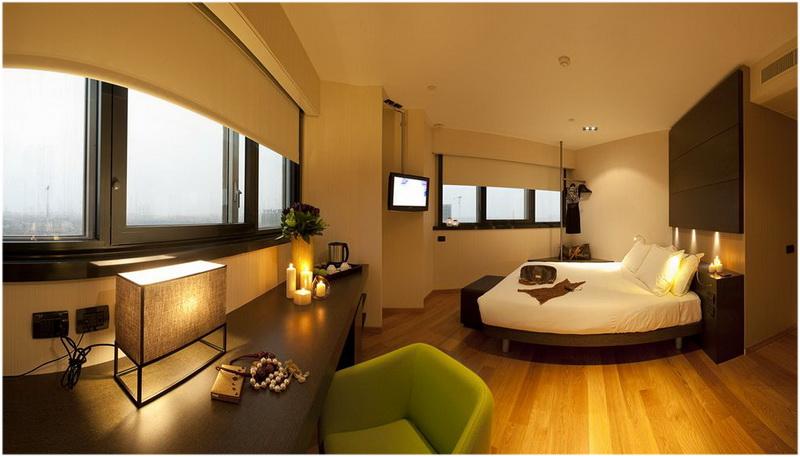 Hotel Hub, Milan, Italie, Chambres