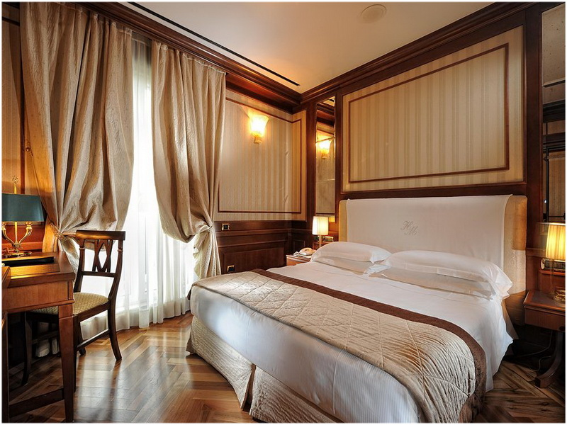 Hotel Manzoni, Milan, Italie, Chambres