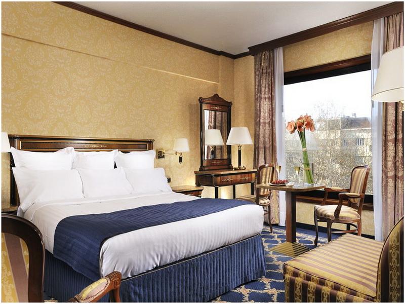 Hotel Marriott, Milan, Italie, Chambres