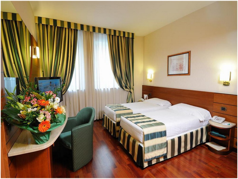 Hotel Mirage, Milan, Italie, Chambres