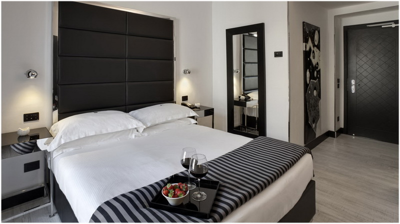 Hotel Napoleon, Milan, Italie, Chambres