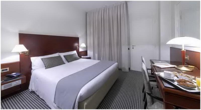 Hotel Peralba, Milan, Italie, Chambres