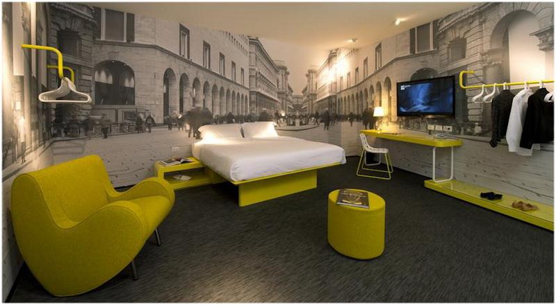 Hotel Street Duomo, Milan, Italie, Chambres