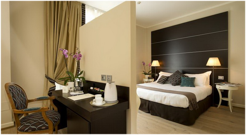 Hotel Town House 33, Milan, Italie, Chambres