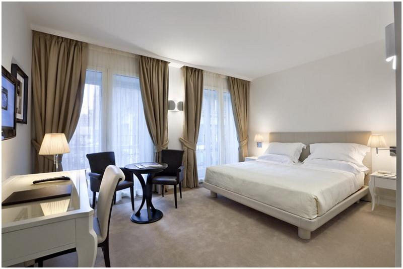 Hotel UNA Maison Milano, Milan, Italie, Chambres
