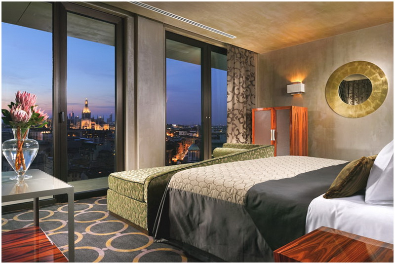Hotel Uptown Palace, Milan, Italie, Chambres