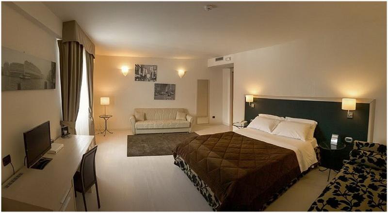 Hotel Virginia Palace, Milan, Italie, Chambres