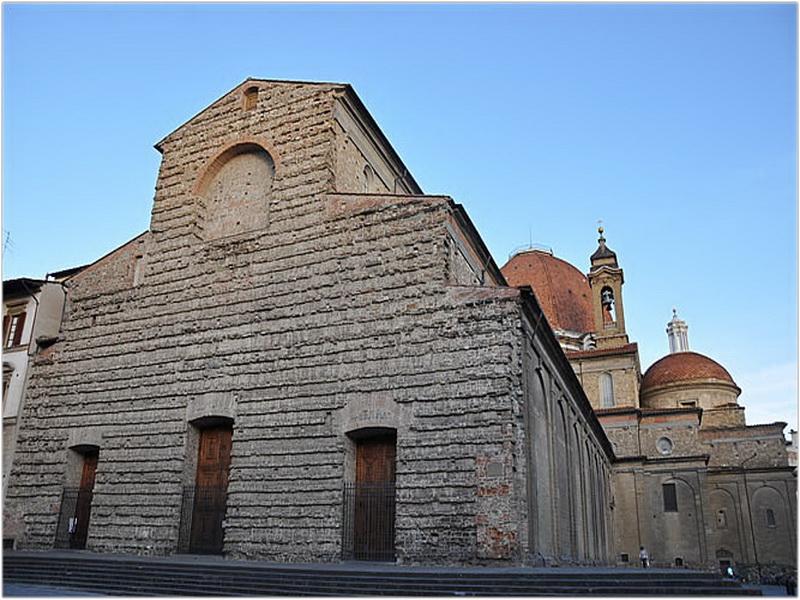 L'église San Lorenzo, Florence, Italie
