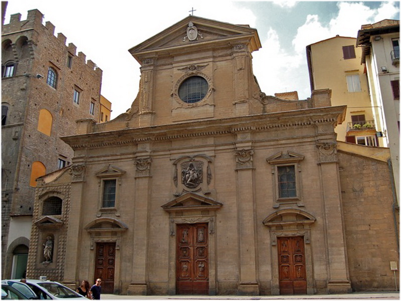 L'église Santa Felicita, Florence, Italie