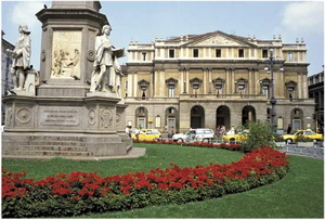 La Scala, Milan, Italie