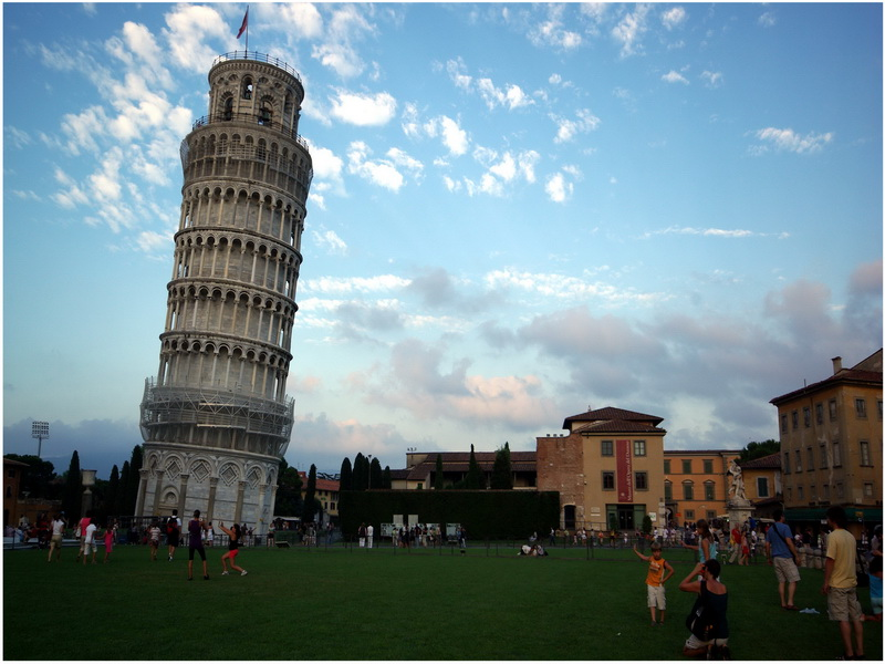 La tour de Pise, Pise, Italie