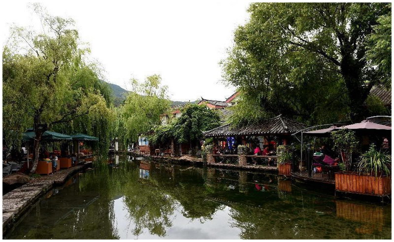 La vieille ville de Lijiang