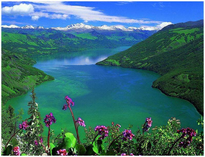 Le lac Kanas