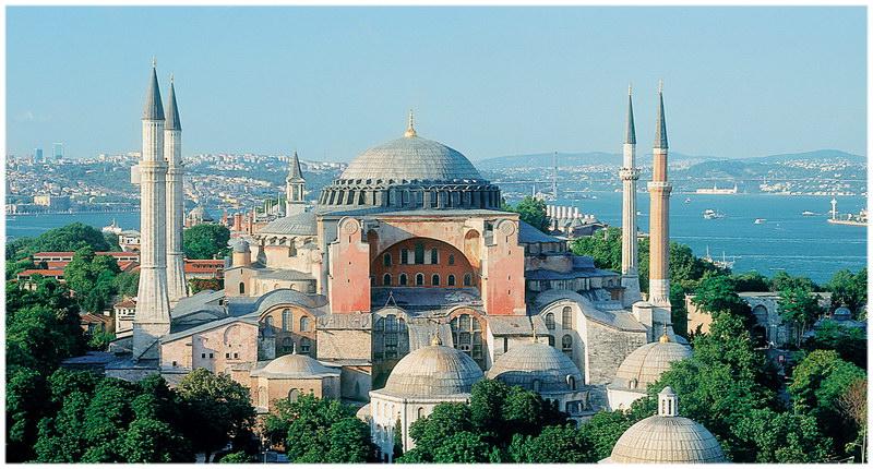 Le musée Sainte-Sophie à Istanbul