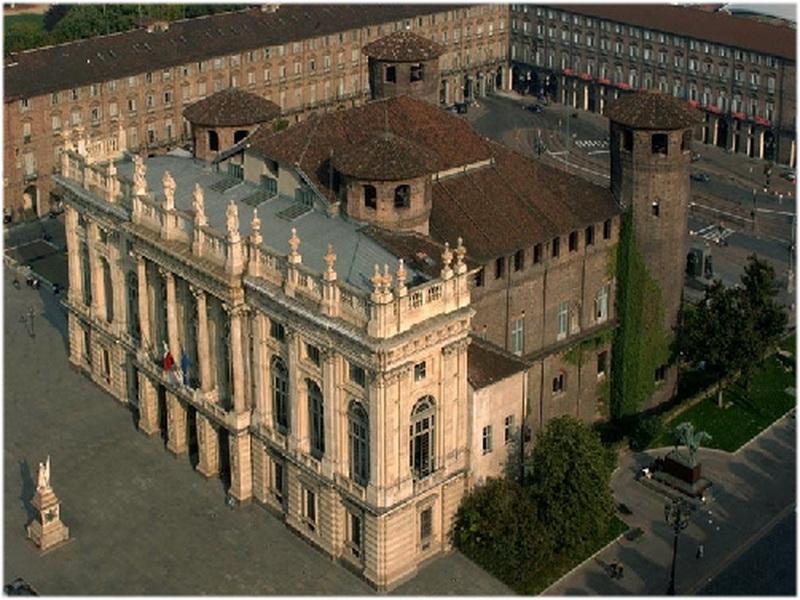 Le palais Madame, Turin, Italie