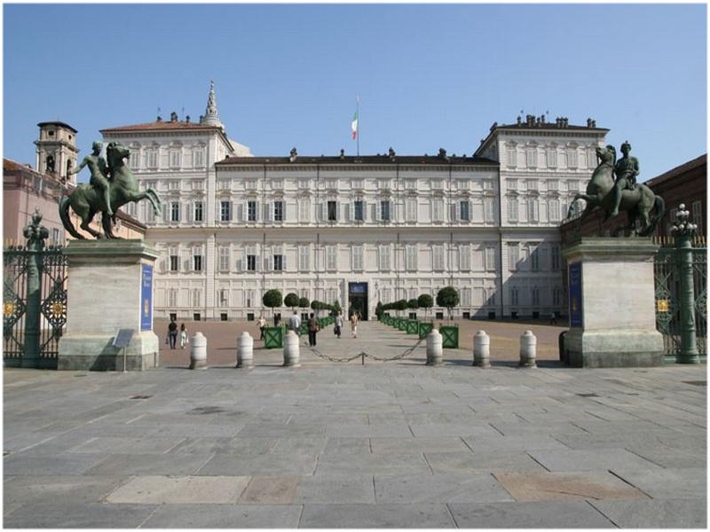 Le palais royal, Turin, Italie