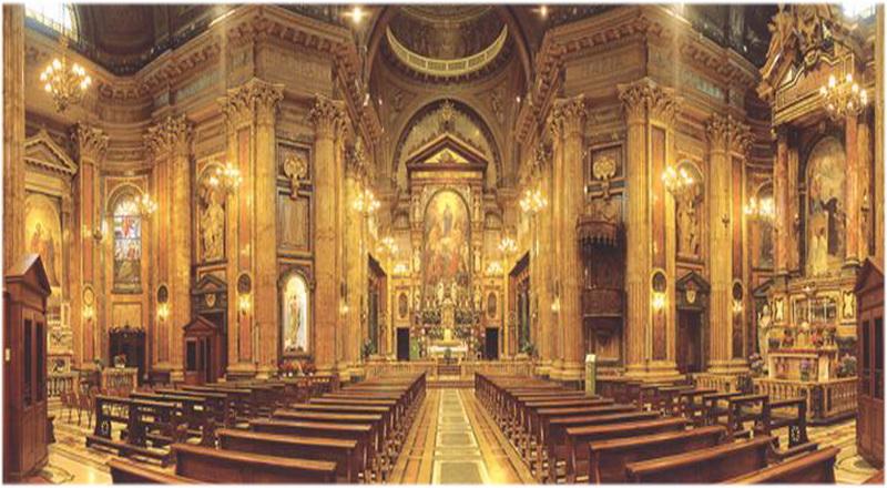 Le sanctuaire de Marie Auxiliatrice, Turin, Italie