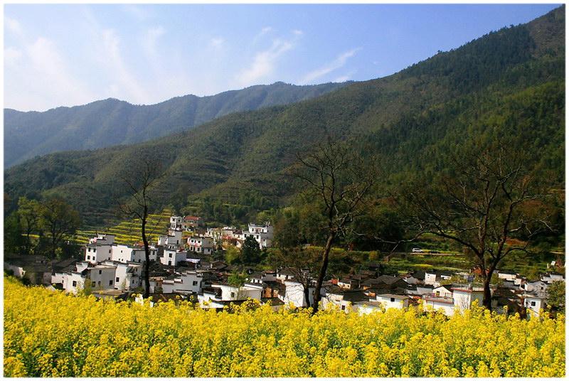 Le village de Wuyuan au Jiangxi.