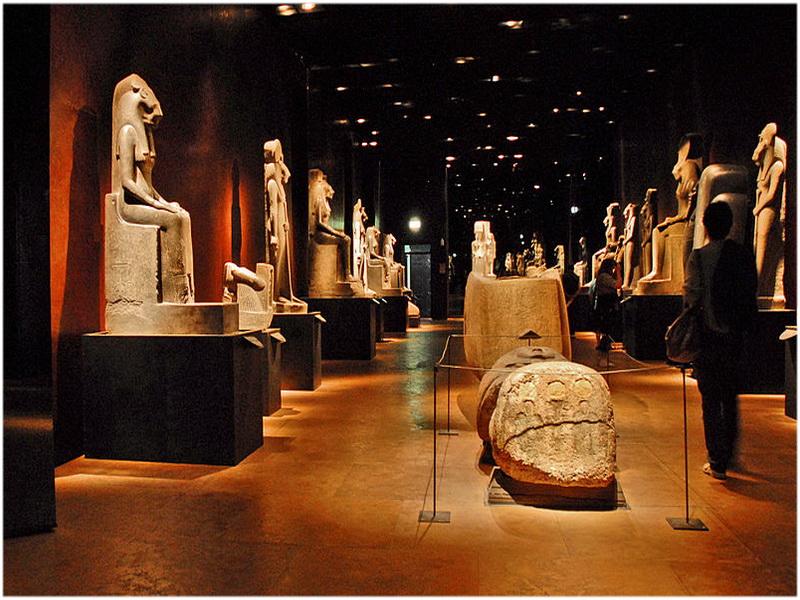 Musée égyptologique, Turin, Italie