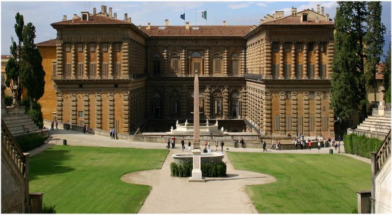 Palais Pitti, Florence, Italie