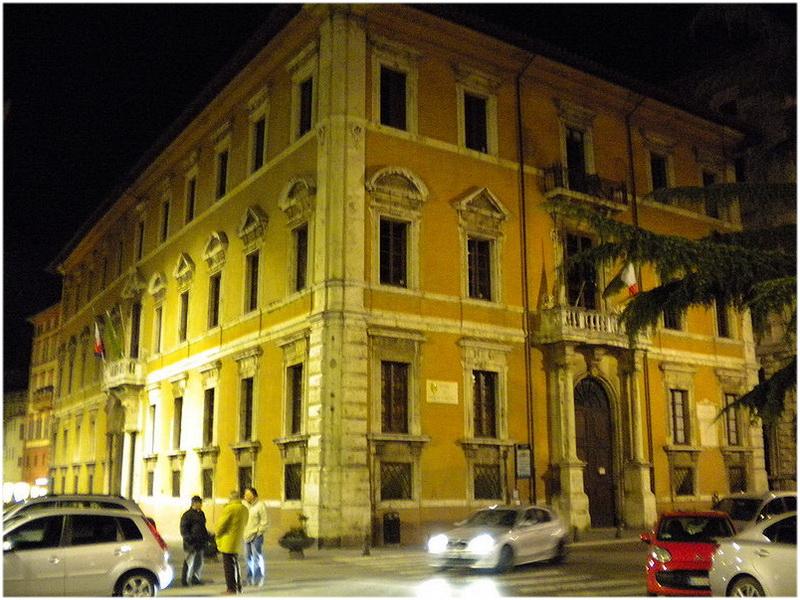 Palazzo Donini, Pérouse, Italie
