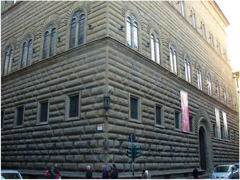 Palazzo Strozzi, Florence, Italie